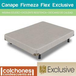 Flex Canapé Firmeza Tapizado Flex Exclusive