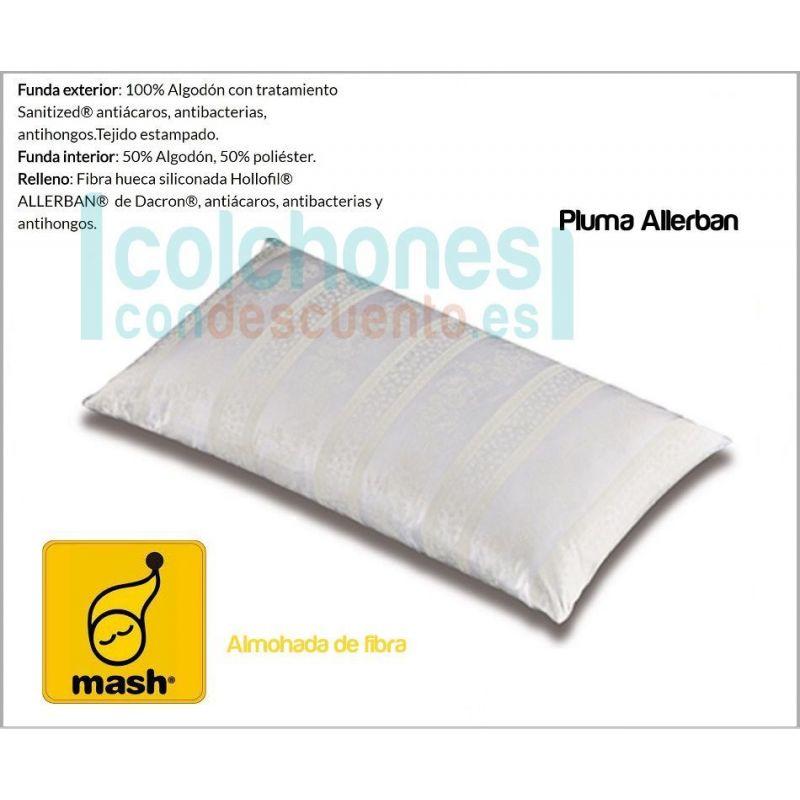 Mash antihongos y antibacterias Almohada Mash Anti/ácaros - 150 cm