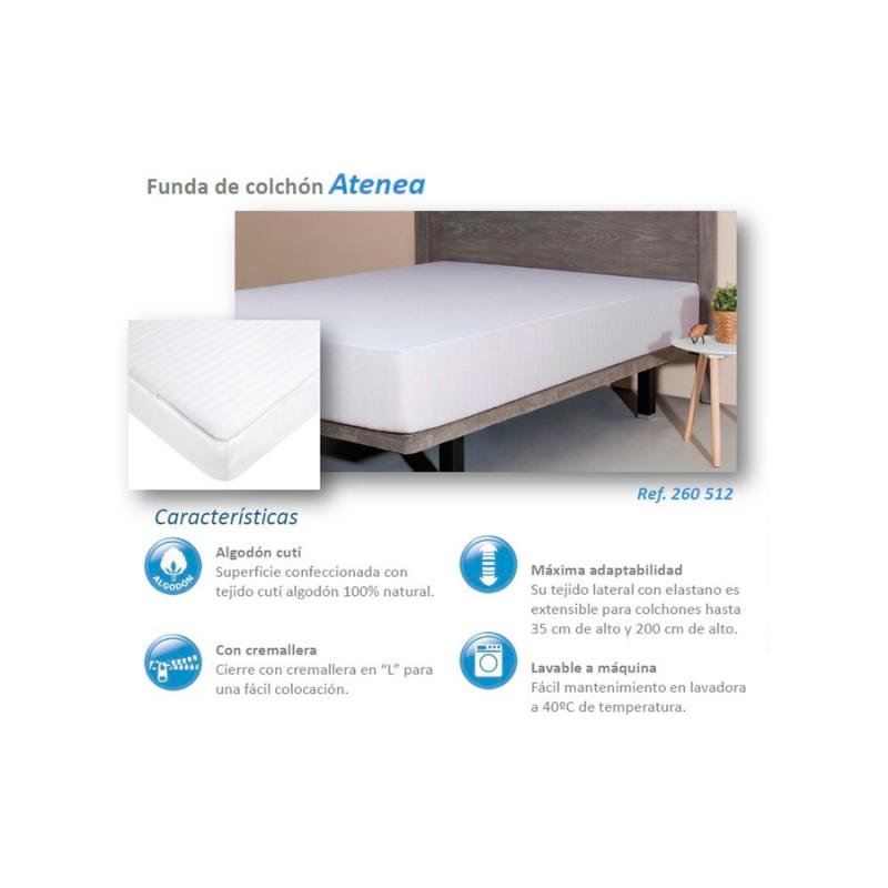d4d07eef631 Funda para colchón con cremallera Velfont® - Colchonescondescuneto.es