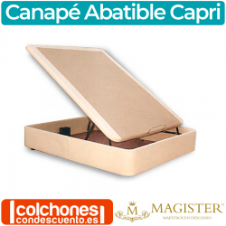 Canapé Tapizado Abatible Capri de Magister