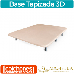 Base Tapizada 3D Transpirable de Magister