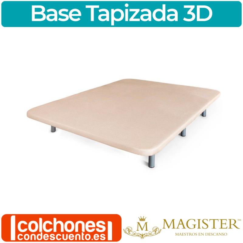 Base Tapizada 3D de magister