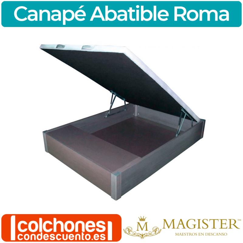 Canapé Abatible hasta el suelo con zapatero Roma de Magister