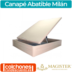 Canapé Abatible de Madera al Suelo Milán de Magister
