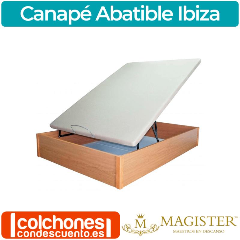 Canapé Abatible de Madera al Suelo Magíster Ibiza