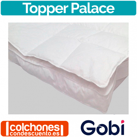 Sobrecolchón / Topper de Plumón Modelo Gran Hotel de Gobi