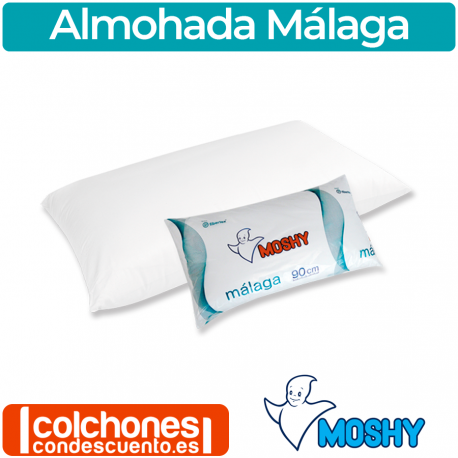 Almohada Málaga fibra de Moshy