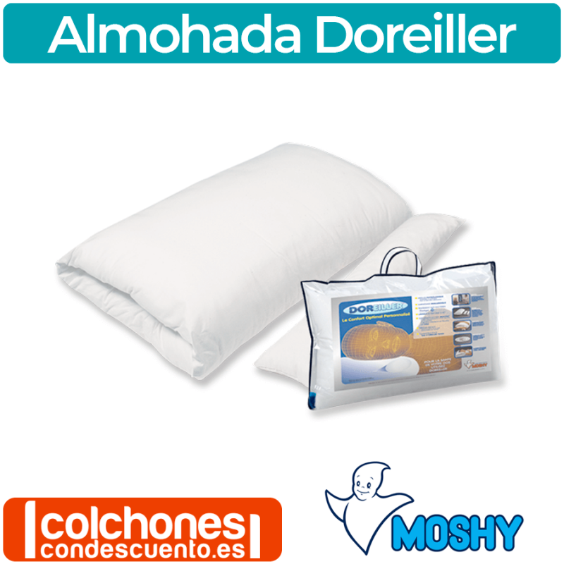 Almohada Moshy Doreiller Ergonomica