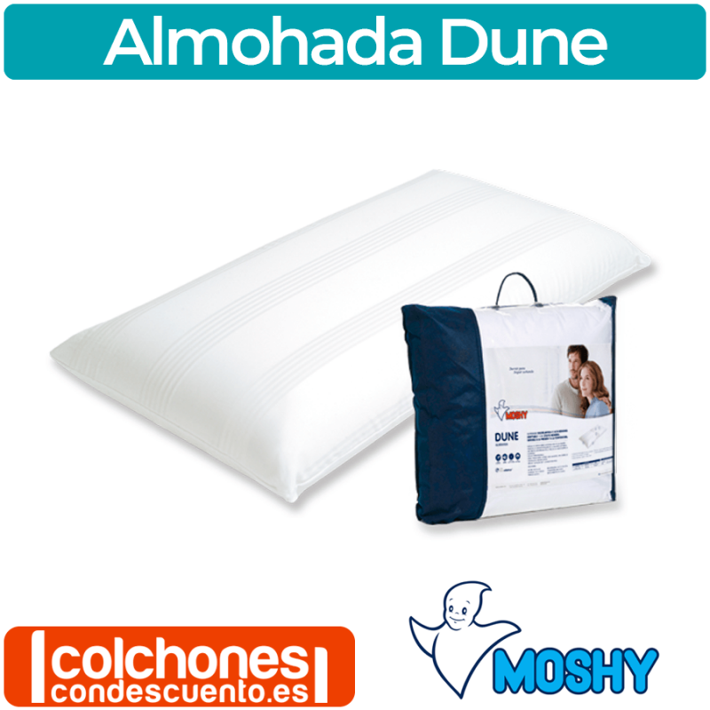 Almohada Moshy Dune Viscoelástico