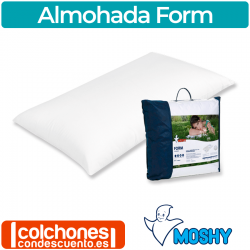 Almohada Visco Form 100% viscoelástica de Moshy