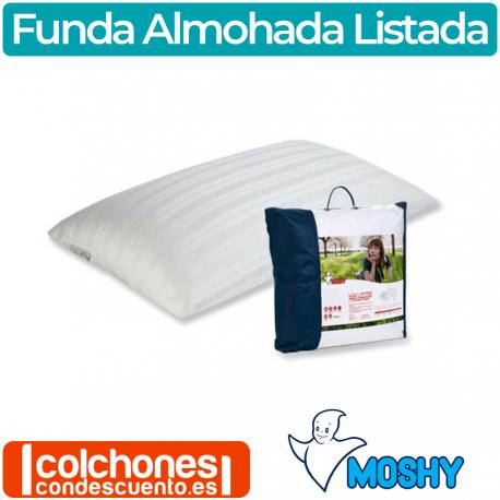 Funda de Almohada Listada de Moshy