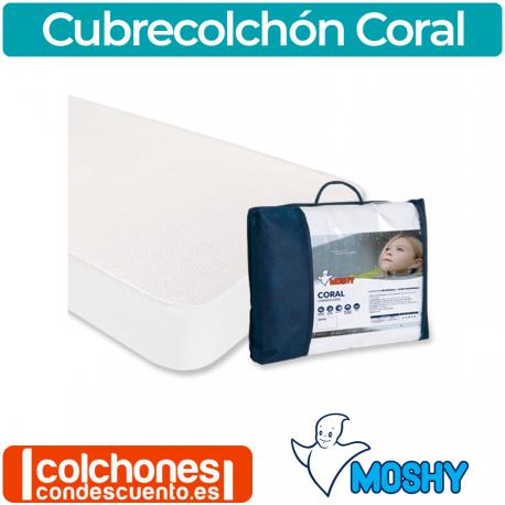 Cubrecolchón Coral de Moshy