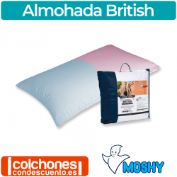 Almohada British de Moshy