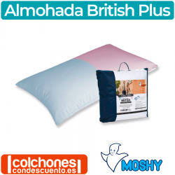 Almohada British Plus de Moshy