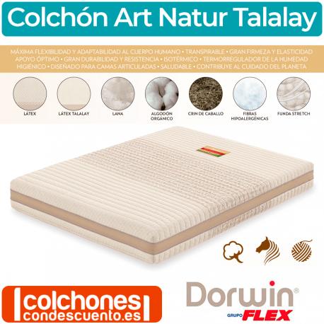 Colchón Natur Talalay Articulado de Dorwin