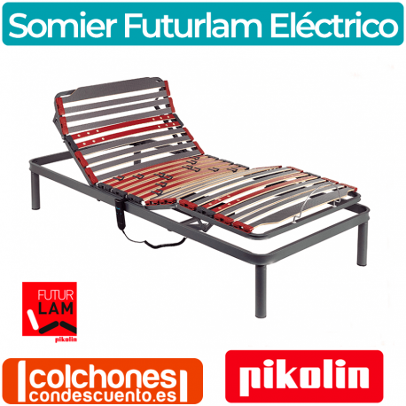 Somier eléctrico Metálico Futurlam de Pikolin