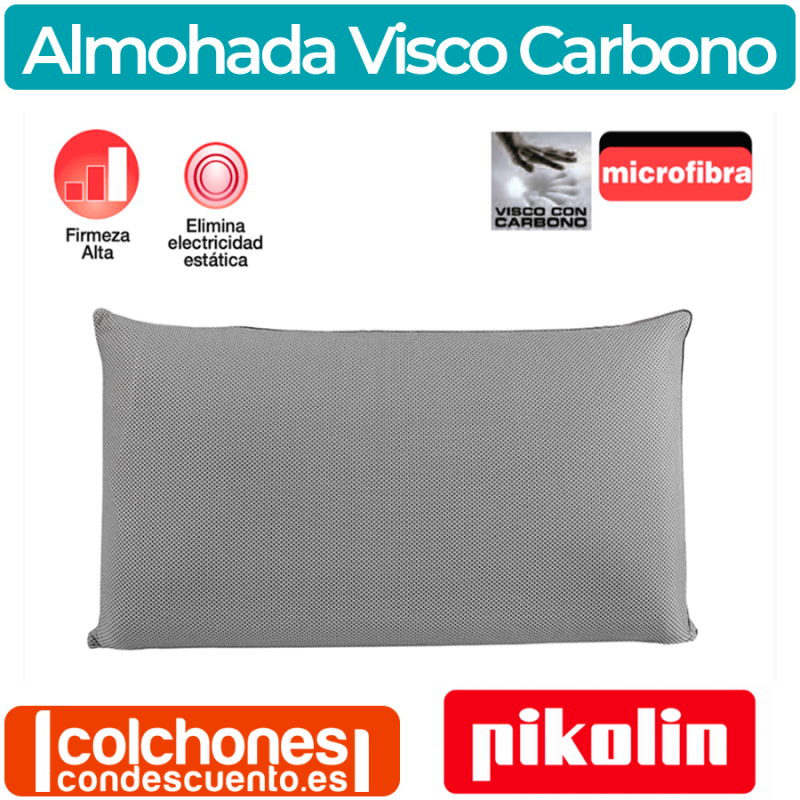 PIKOLIN Almohada VISCOCARBONO (70cm)