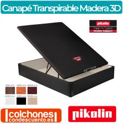 Canapé Abatible Madera Tapa 3D Transpirable de Pikolin