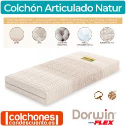 Colchón Articulado Natur Látex de Dorwin