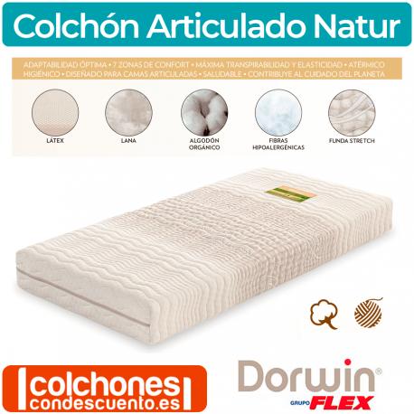Colchón Dorwin Natur Látex articulable