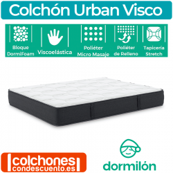 Colchón Urban Visco de Dormilon