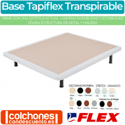 Base Fija Transpirable Tapiflex de Flex
