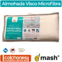 Almohada Visco Microfibra Antiácaros de Mash
