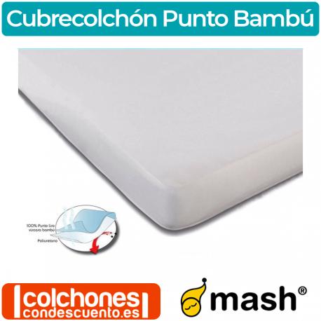 Cubrecolchón Impermeable Punto Bambú de Mash
