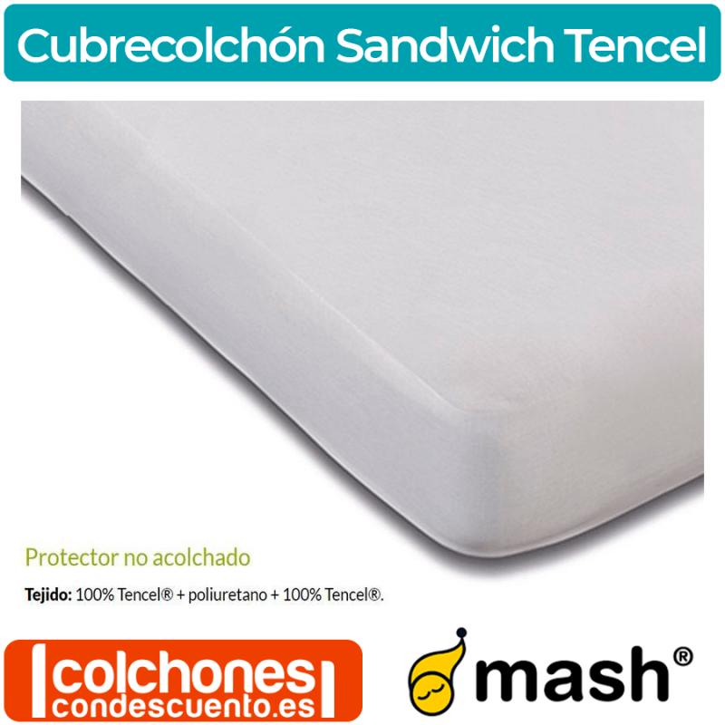 Cubrecolchón Mash Sandwich no acolchado