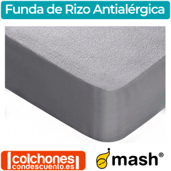 Funda de Colchón Rizo Antialérgica de Mash