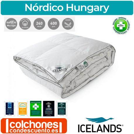 Relleno Nórdico Icelands Hungary 400 gr/m2