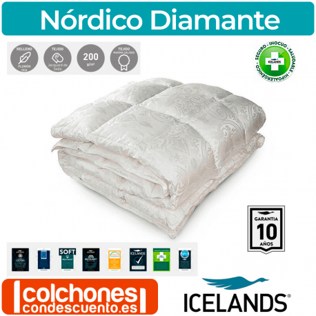 Relleno Nórdico Diamante de Icelands