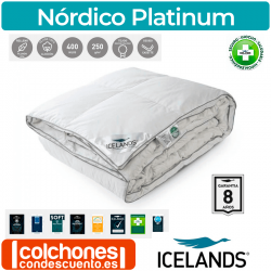 Relleno Nórdico Platinum Plumón de Iceland