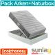 Pack Colchón Arken + Canapé Naturbox de Pikolin
