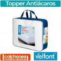 Sobrecolchón Topper Antiácaros de Velfont®