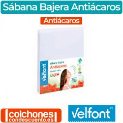 Sábana Bajera Antiácaros de Velfont
