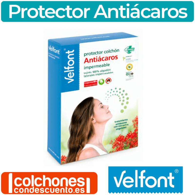 Protector de colchón antiácaros impermeable de Velfont®