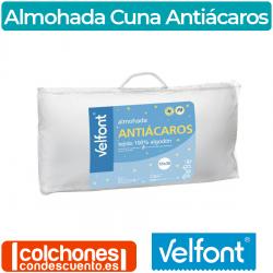 Almohada Cuna Antiácaros de Velfont
