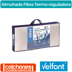 Almohada Outlast Fibra Termo-reguladora de Velfont