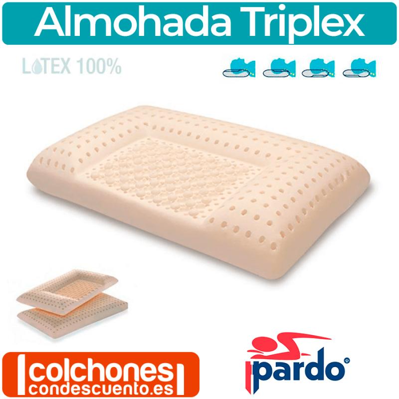 Almohada Látex Triplex de Pardo
