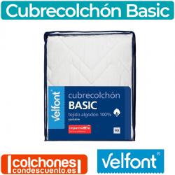 Cubrecolchón Basic Impermeable y Acolchado de Velfont®