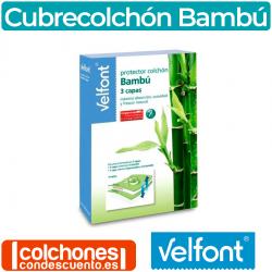 Cubrecolchón Impermeable Bambú 3 Capas de Velfont