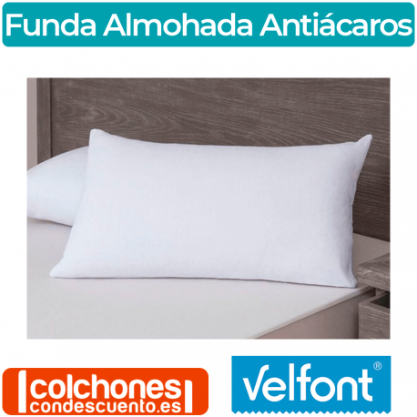 FUNDA ALMOHADA RESPIRA AZUL MARINO | Velfont
