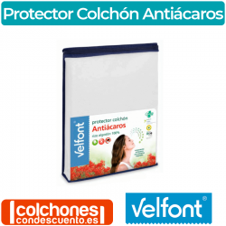 Protector Colchón Rizo Antiácaros de Velfont®