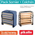Pack Pikolin Colchón + Somier Cama Plegable