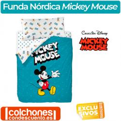 Juego de Funda Nórdica Mickey Mouse