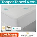 Sobrecolchón (Topper) Viscoelástico Tencel 4 cm de Classic Blanc