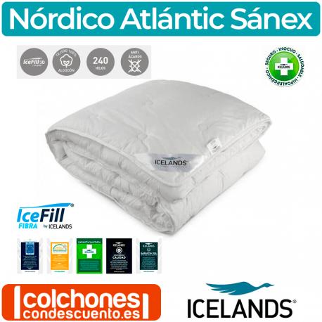 Relleno Nórdico Icelands Atlántic Sanex Cama 200 OUTLET