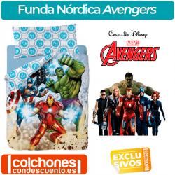 Juego de Funda Nórdica de Los Vengadores Avengers Strike