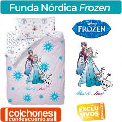 Juego de Funda Nórdica Frozen
